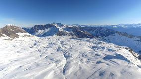 Sorvolare Ski Resort video d archivio