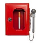 SOS τσιγάρων Στοκ Εικόνες