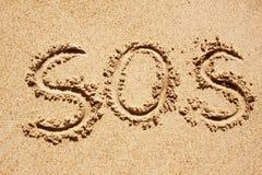 SOS Stock Photo