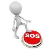 SOS ilustração royalty free