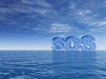 SOS ilustração do vetor