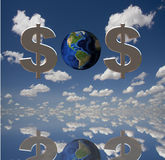 SOS Royalty Free Stock Photography