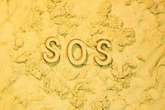 sos Image stock