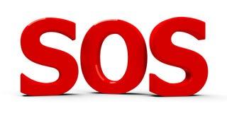 SOS icon Royalty Free Stock Photo