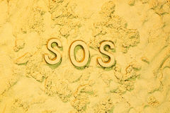 SOS Stock Image