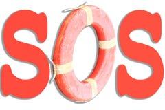 SOS - Salvo le nostre anima Fotografie Stock
