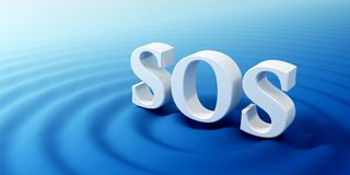 SOS symbol Royalty Free Stock Photos