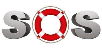 SOS symbol. Stock Photo