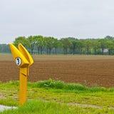 SOS usługowy punkt na autostradzie Fotografia Royalty Free