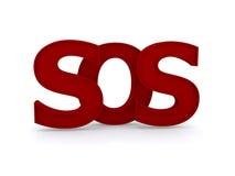 SOS znak Zdjęcia Royalty Free