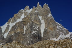 Sosbun Brak (6413m) Stock Afbeelding