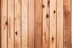 Sosnowego drewna ściany lub drewnianego panelu pionowo linia Obraz Royalty Free