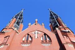 Sosnowiec. City in Zaglebie Dabrowskie region of Poland. Saint Thomas church Stock Photos