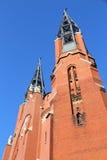 Sosnowiec landmark. Sosnowiec, city in Upper Silesia (Gorny Slask) region of Poland. Saint Thomas church Stock Photos