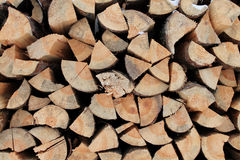 Sosnowy drewno dla zaświecać piekarnika Obrazy Stock