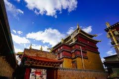 sosnowy wielki świątynny Lin Fotografia Stock