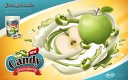 Sosowana cukierek reklama ilustracji