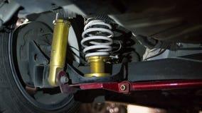 Sospensione di sport per Toyota Yaris ecocar Fotografia Stock Libera da Diritti
