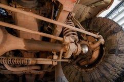 Sospensione sporca 4WD Fotografia Stock Libera da Diritti