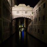 Sospiri bridge. In Venice bridge Royalty Free Stock Photography