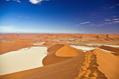 Sossuslvlei e Deadvlei em Namíbia Foto de Stock Royalty Free