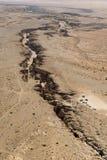 Sossusvlei,纳米比亚沙丘的Airwiev  免版税图库摄影