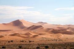 Sossusvlei öken, Namibia arkivfoton