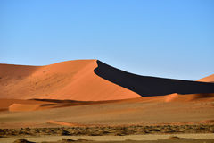 Sossusvlei, εθνικό πάρκο Namib Naukluft, Ναμίμπια Στοκ εικόνα με δικαίωμα ελεύθερης χρήσης