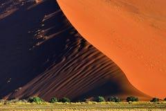 Sossusvlei, εθνικό πάρκο Namib Naukluft, Ναμίμπια Στοκ Εικόνα