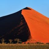 Sossusvlei, εθνικό πάρκο Namib Naukluft, Ναμίμπια Στοκ Φωτογραφίες