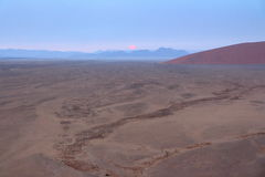 Sossusvlei, η έρημος Namib, Ναμίμπια Στοκ Εικόνες