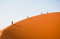 sossusvlei дюны стоковые фото