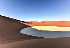 Sossusvlei, Намибия Стоковое Изображение