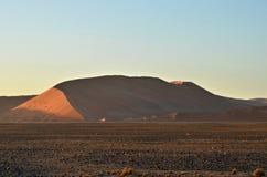 Sossusvlei, национальный парк Namib Naukluft, Намибия Стоковое Изображение