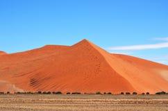 Sossusvlei, национальный парк Namib Naukluft, Намибия Стоковая Фотография RF