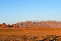 Sossusvlei, национальный парк Namib Naukluft, Намибия Стоковая Фотография