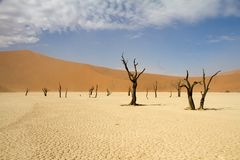 Sossusvlei desert, Namibia Stock Photos