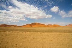 Sossusvlei desert, Namibia Royalty Free Stock Photos