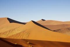 Sossusvlei dunes Stock Image