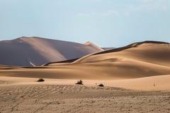 Sossusvlei dunes in Namib desert Stock Image