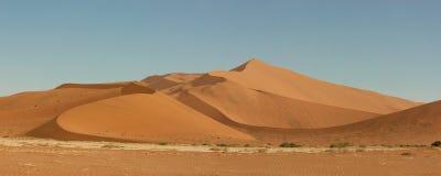 Sossusvlei dunes, Namibia. Sand dunes in Sossusveli in the Namibian desert Stock Photography