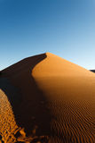 Sossusvlei dunes. Red dunes on the road to Sossusvlei, Namibia Stock Images
