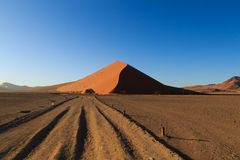 Sossusvlei dunes Stock Images