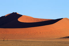 Sossusvlei dunes Royalty Free Stock Images