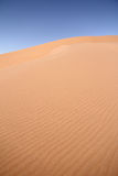 Sossusvlei dunes with ripples. Red dune with ripples at Sossusvlei, Namib desert, Namibia stock photos