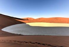 Sossusvlei, Namíbia Fotos de Stock Royalty Free