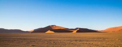 Sossusvlei Namíbia Fotografia de Stock Royalty Free