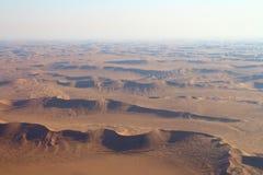 Sossusvlei, Namib Desert. Sossusvlei: Flying over the Namib Desert Royalty Free Stock Photography