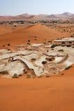 Sossusvlei, Namib Naukluft National Park, Namibia royalty free stock photography