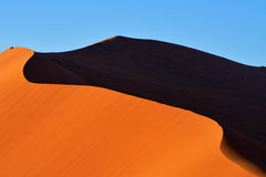 Sossusvlei, Namib Naukluft National Park, Namibia Royalty Free Stock Photo